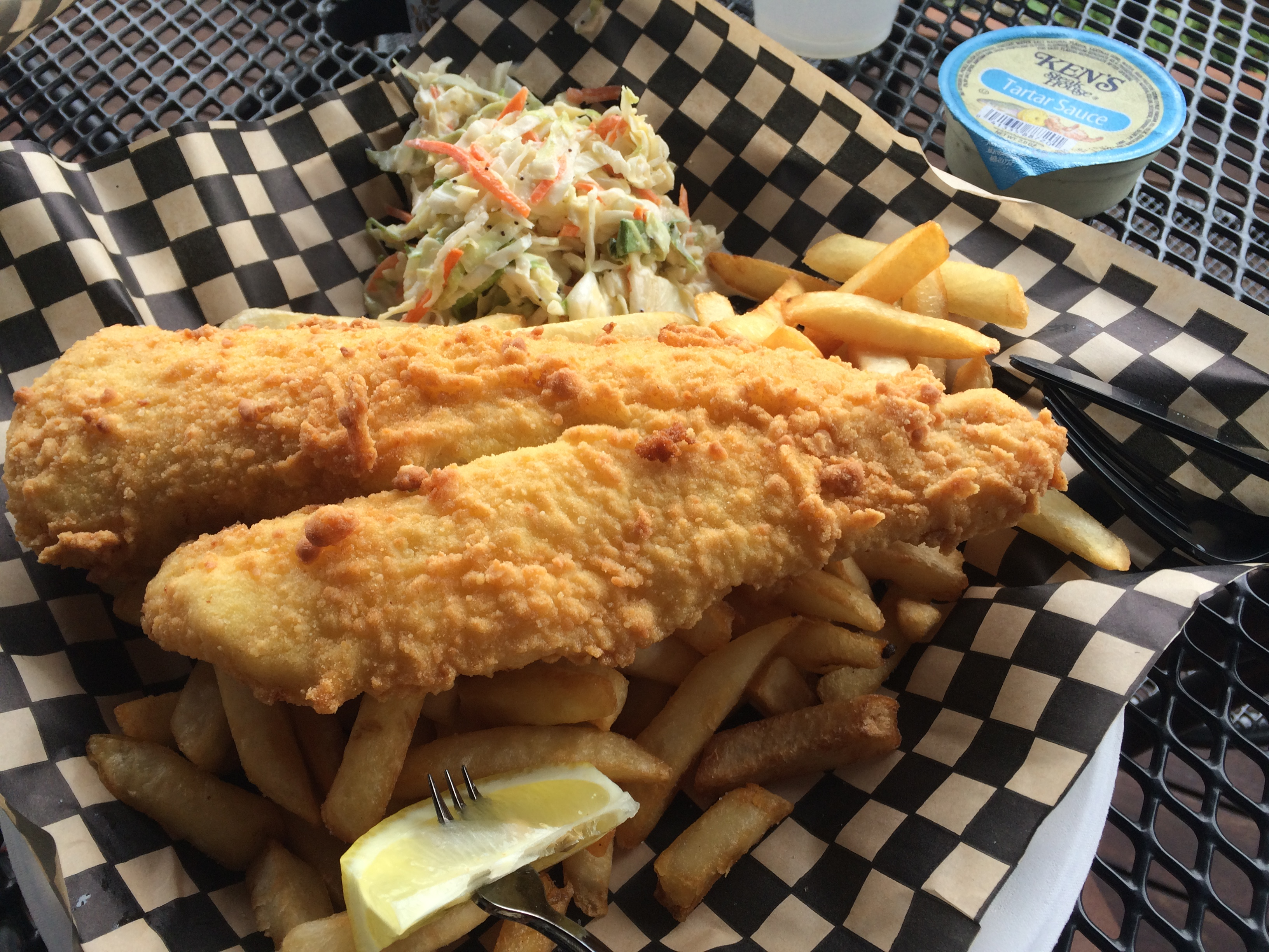 August 2015 bottled poetry for Fish and chips ballard
